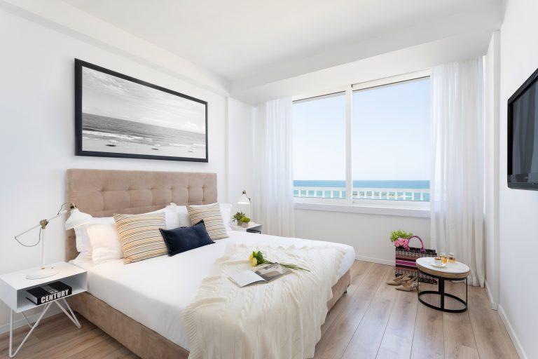 חדר לזוג במלון בוטיק בתל אביב