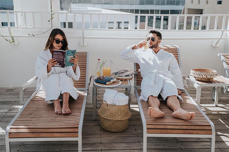 חופשה זוגית מושלמת - זמן להירגע ולשחרר לחצים
