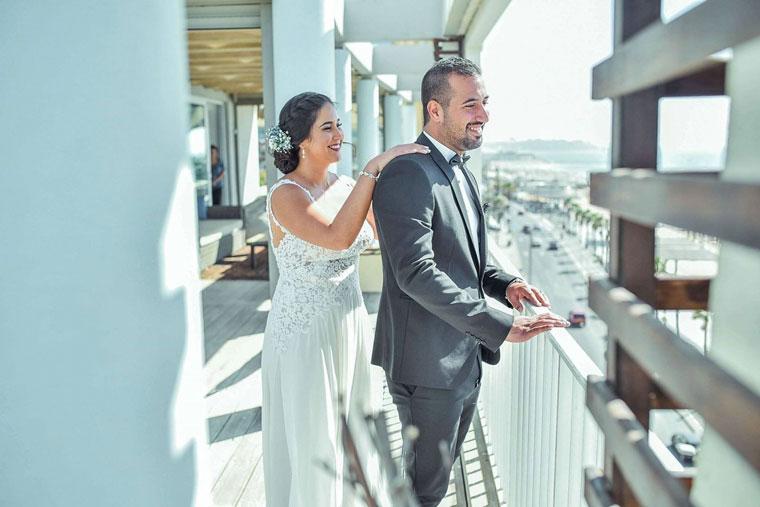 זמן לאהבה: ליל כלולות סתווי מלון בוטיק בתל אביב