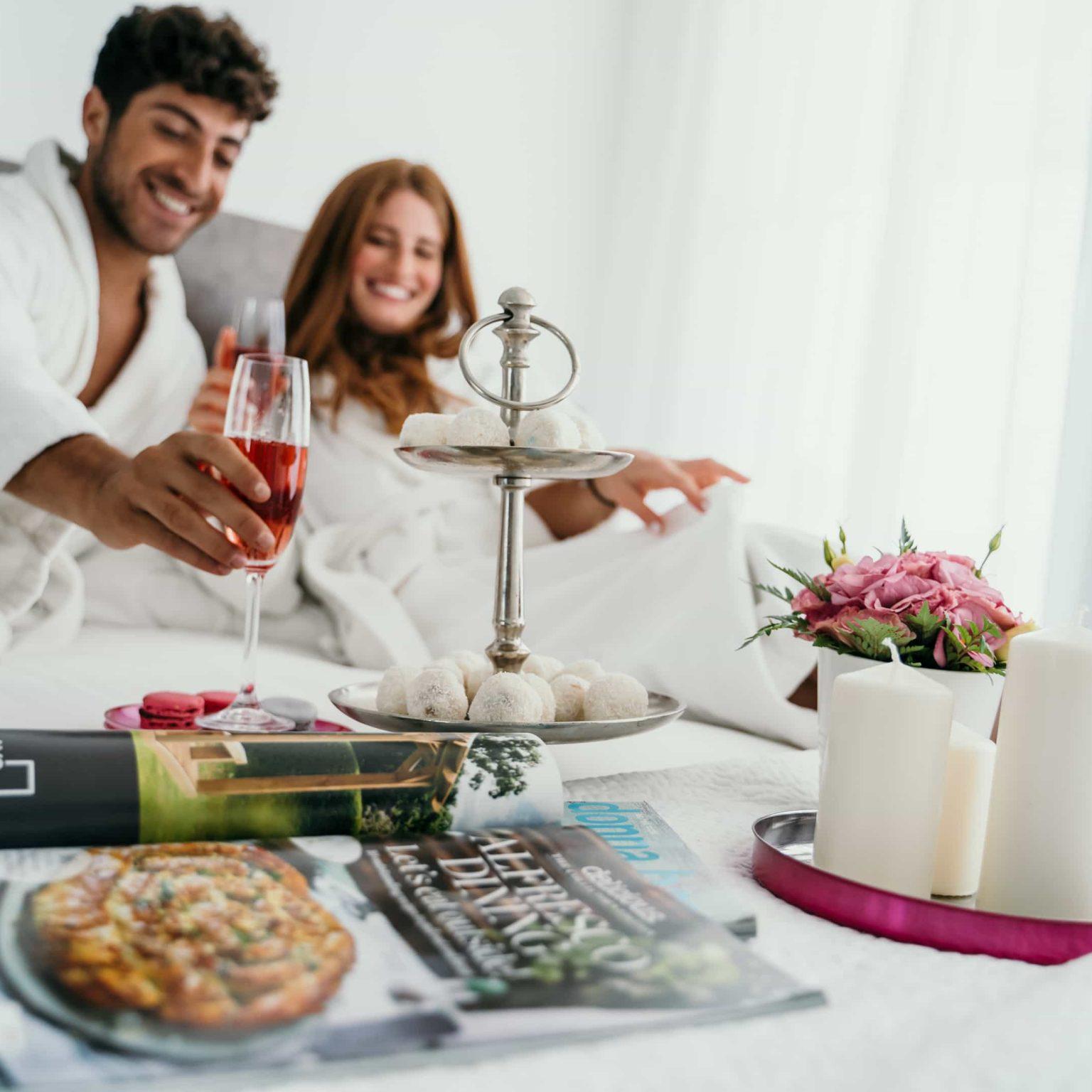 זוג עושה לחיים