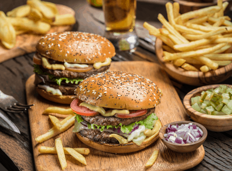 TOP 5 BURGERS IN TOWN